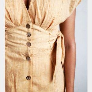 Dresses & Skirts - 🆕️//The Charli// yellow Summer dress